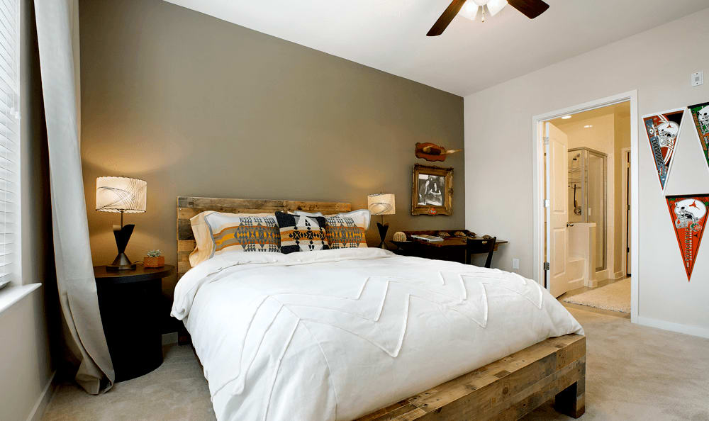 Bedroom at The 704 in Austin, TX