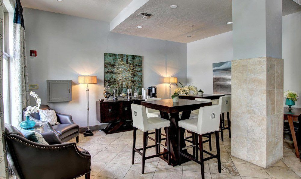 Incredible amenities in apartments at Marquis at Turtle Creek