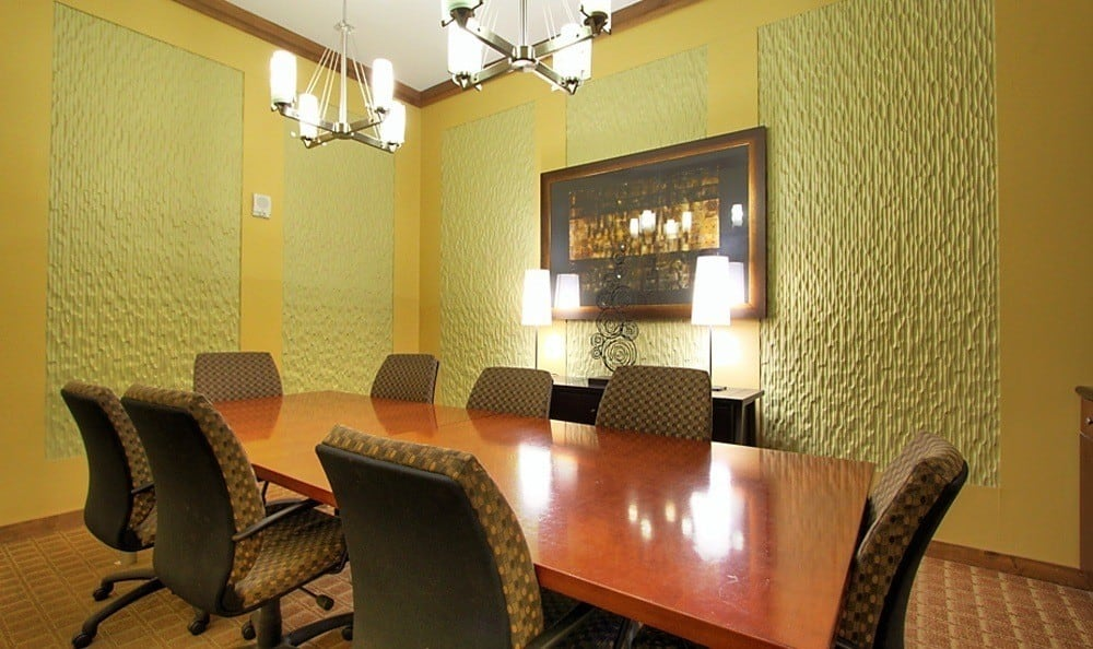 Conference room at The Marquis Lofts at Hermann Park in Houston, TX