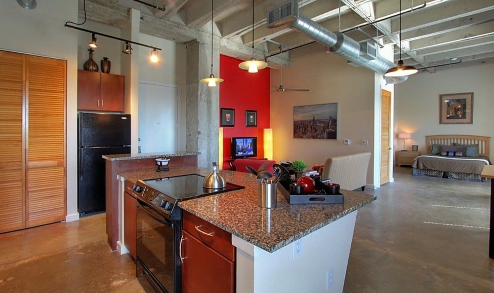 Luxury apartments at The Marquis Lofts at Hermann Park in Houston, TX