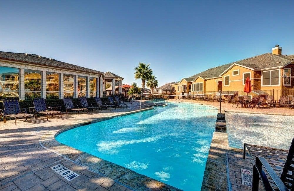 Beautiful pool at Marquis at Star Ranch in Hutto, TX