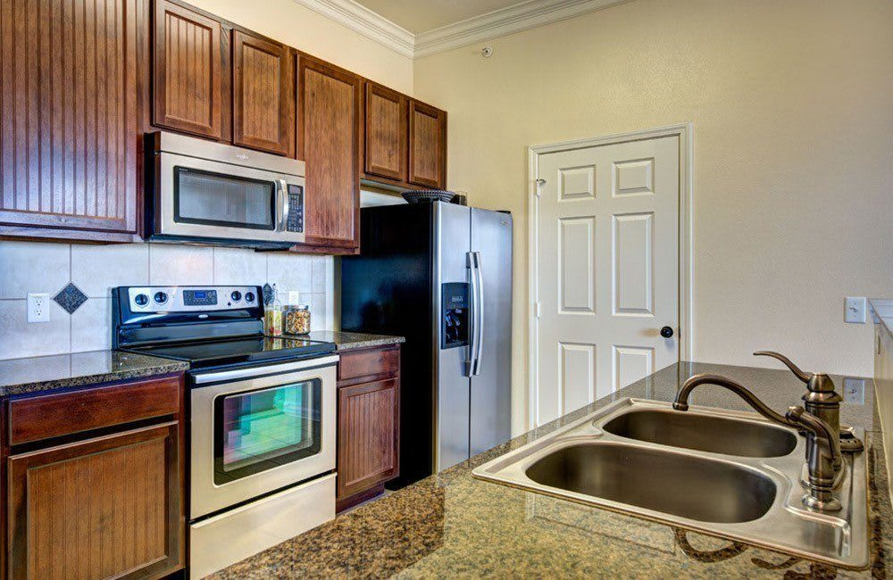 Upgraded kitchen at Marquis at Star Ranch, Hutto