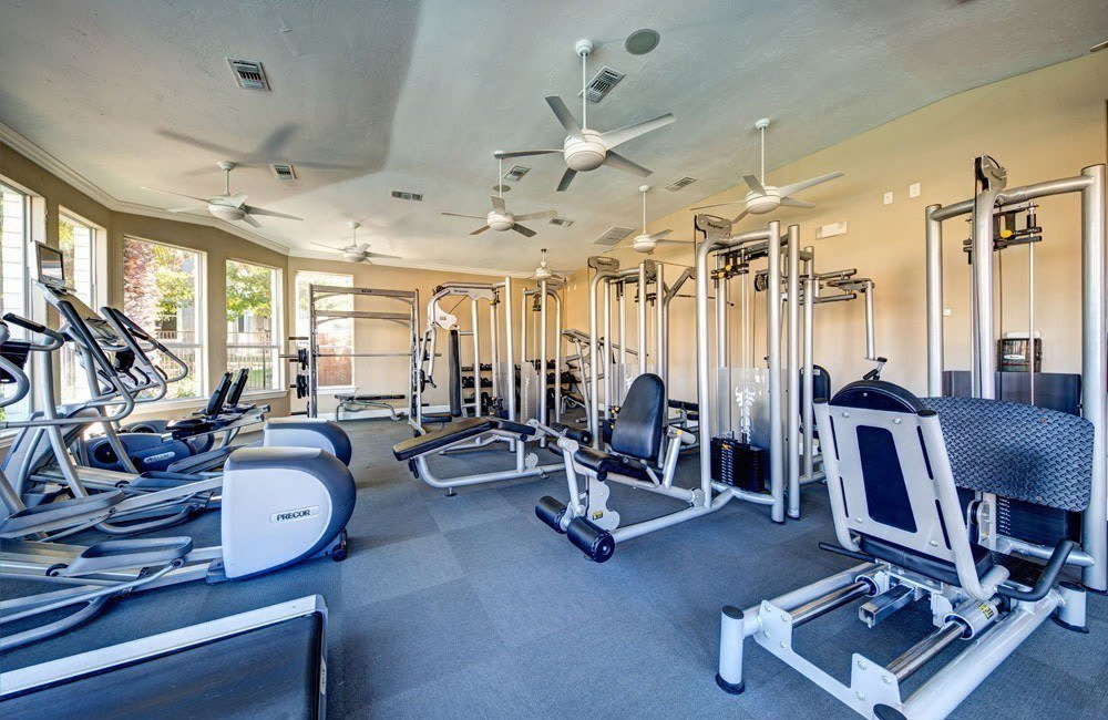 Do exercise at our fitness center at Marquis at Star Ranch in Hutto, TX