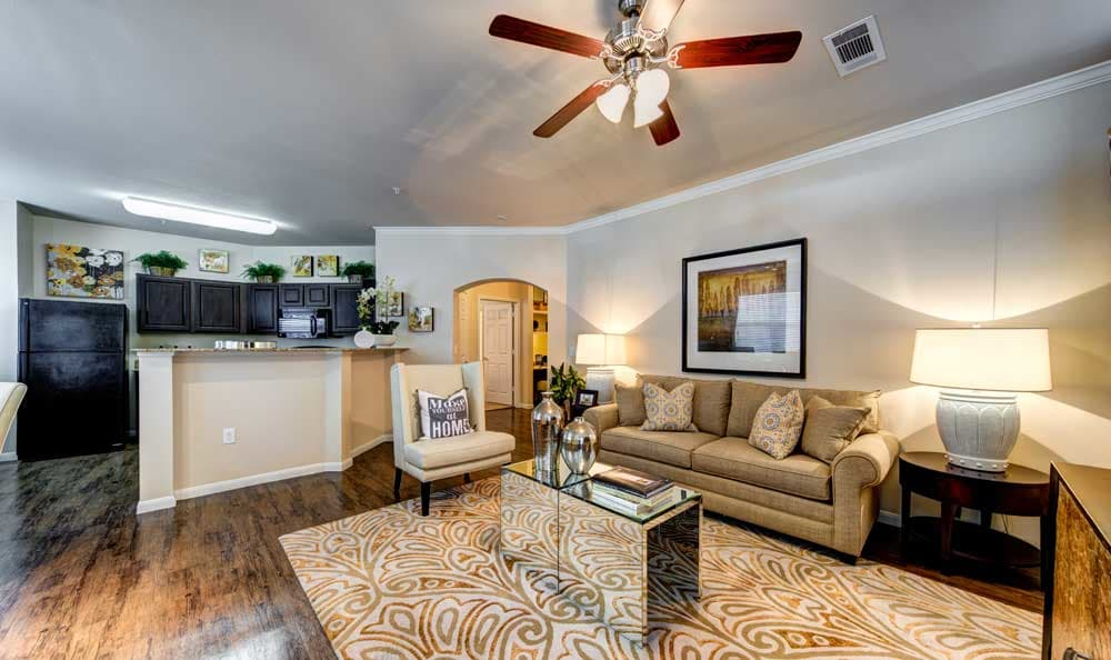 Spacious floor plans at the apartments for rent in Katy