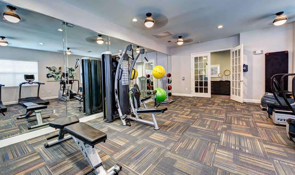 Fitness Center at Marquis at Cinco Ranch in Katy, TX