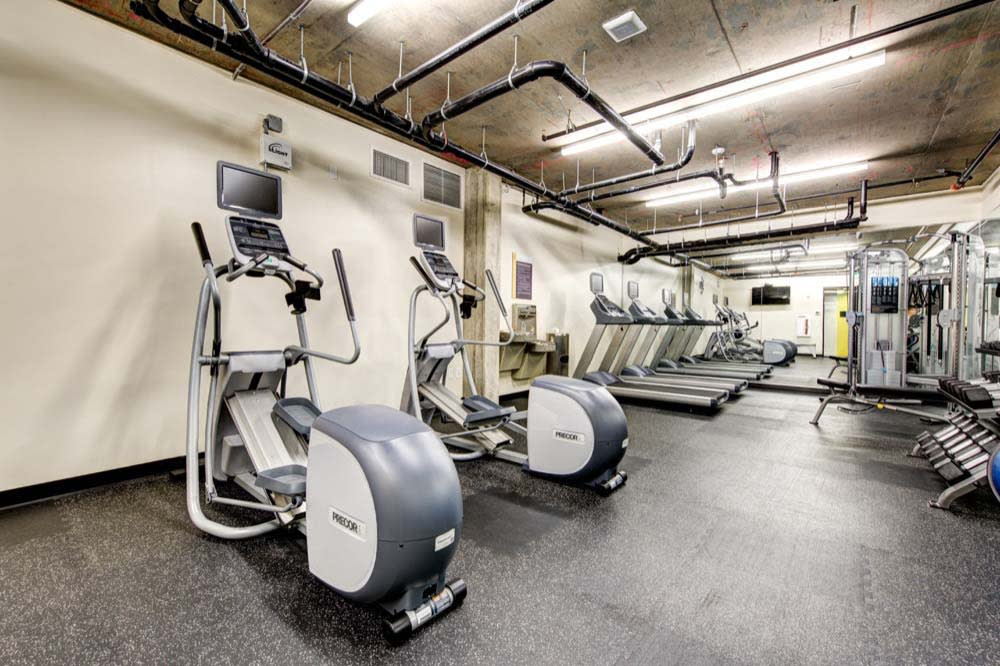 Fitness center at Anthem on 12th in Washington