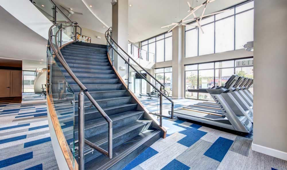 Fitness center at Marq 31
