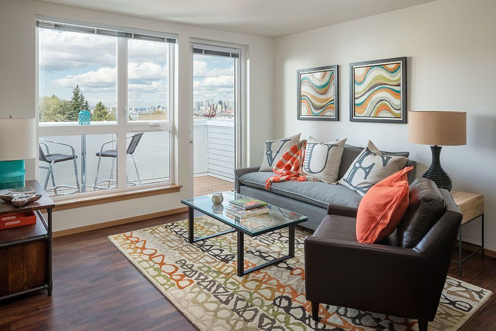 Beautiful floor plans with lots of light at Marq West Seattle