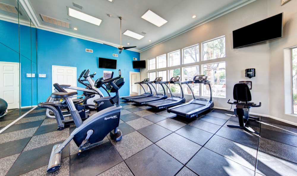 fitness center at Marquis at Arrowhead in Peoria, AZ