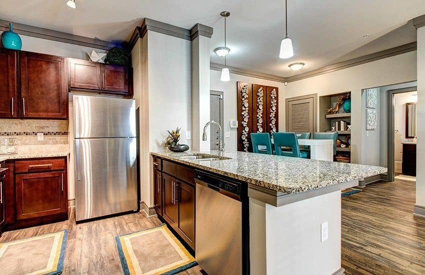 Kitchen at The Marq at Weston in Morrisville, NC