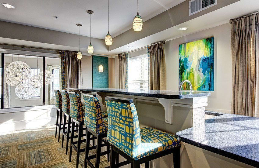 Clubhouse at The Marq at Weston in Morrisville
