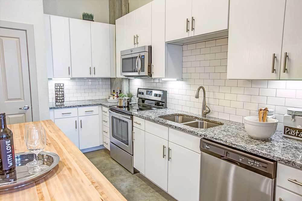 Kitchen at Marq on Burnet in Austin, TX