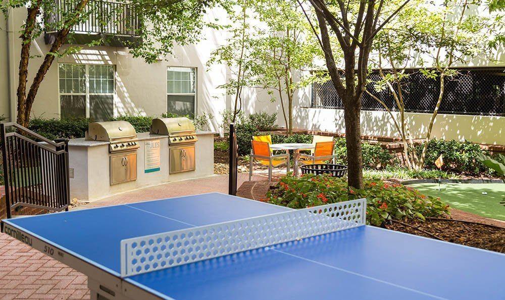 Ping pong table at Marq on Ponce in Atlanta, GA
