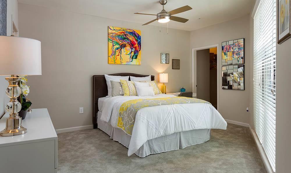 Master bedroom at Marq on Ponce in Atlanta, GA