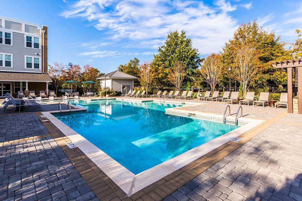 Pool at Marquis at Morrison Plantation in Mooresville, NC