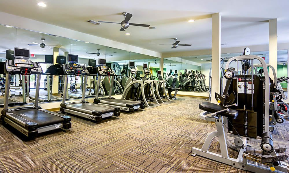 Well Equipped Fitness Center at Marq Eight in Atlanta, GA