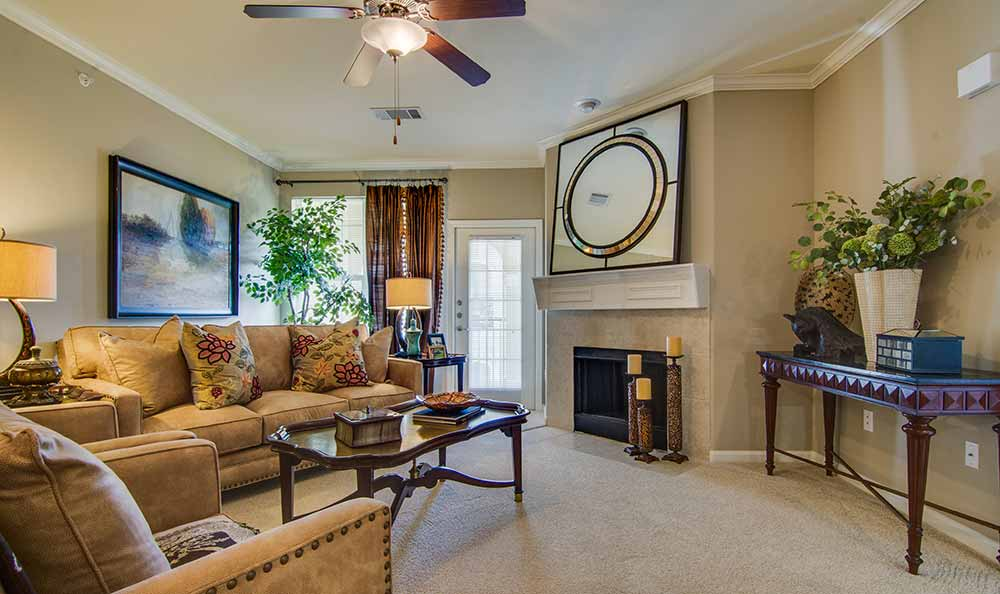 Enjoy family in the living room at Marquis at The Cascades in Tyler, Marquis at The Cascades