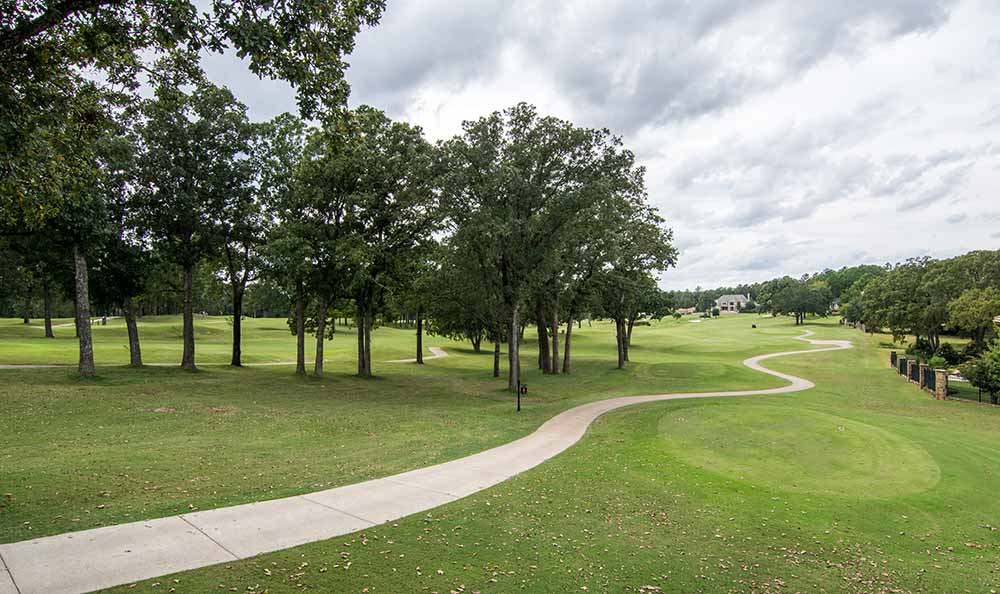 Golf course at Marquis at The Cascades in Tyler, TX