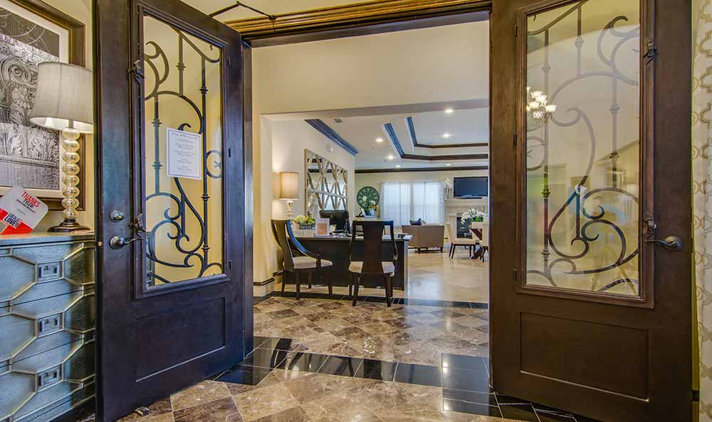 Entrance at Marquis at The Cascades in Tyler, Marquis at The Cascades