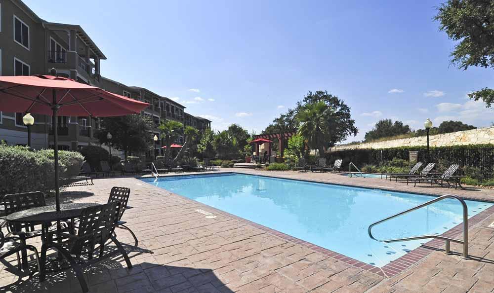 Swimming pool at Marquis at Stone Oak