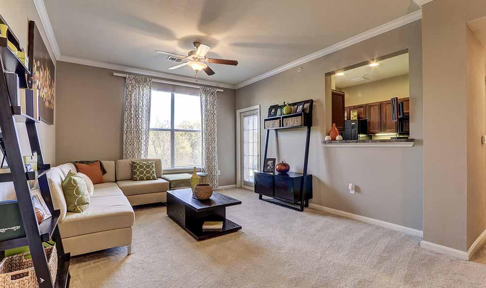 Ample living space in Marquis at Crown Ridge in San Antonio