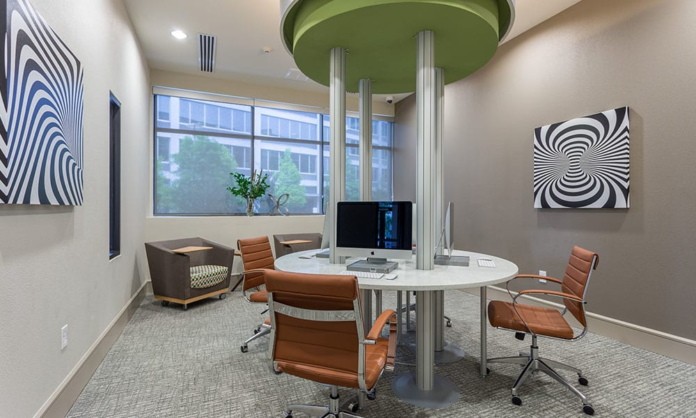 Business Center at Marq Uptown in Austin, TX