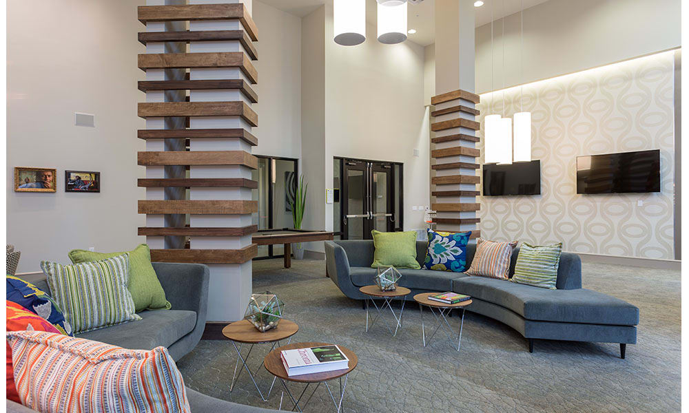 Community Room at Marq Uptown in Austin, TX