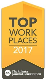 2017 Top Places to Work Award