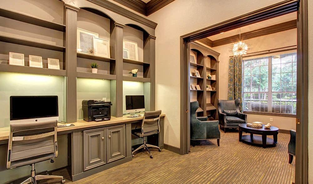 State of the art business center at Marquis at Kingwood, Kingwood