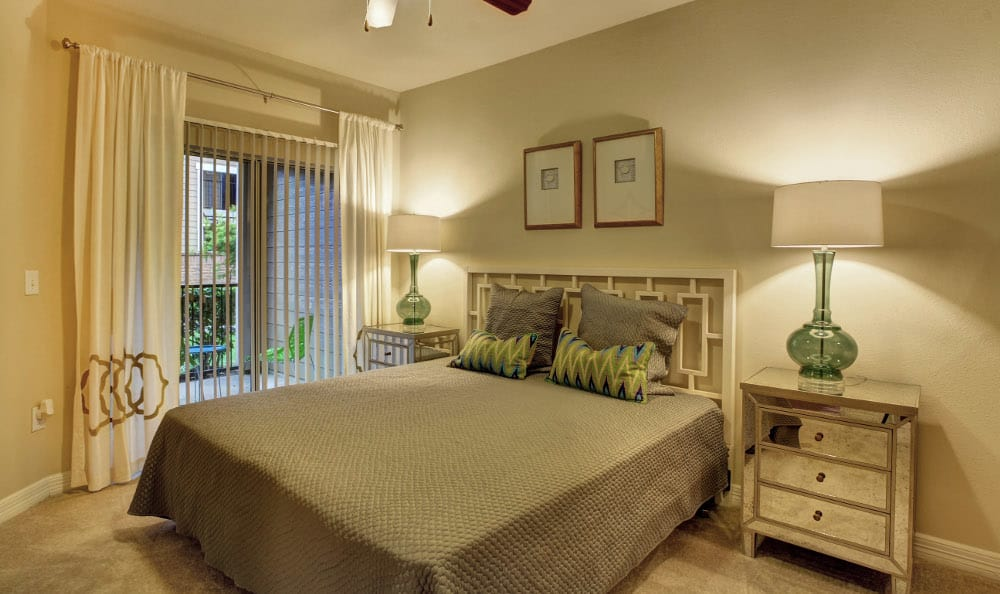 Relax at night in your spacious bedroom at Marquis at Kingwood in Kingwood, Marquis at Kingwood