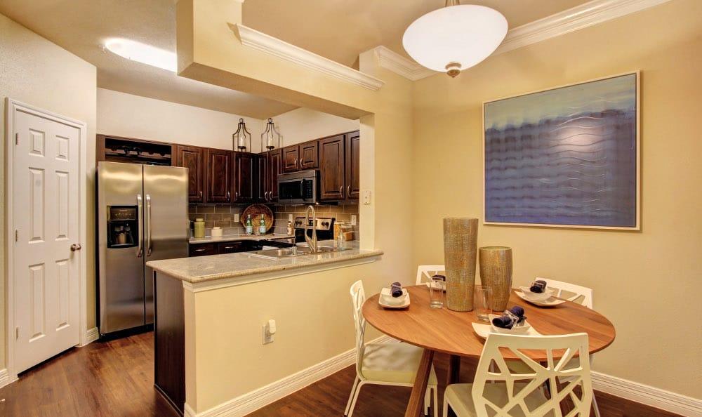Enjoy the modern kitchen at Marquis at Kingwood in Kingwood, Marquis at Kingwood
