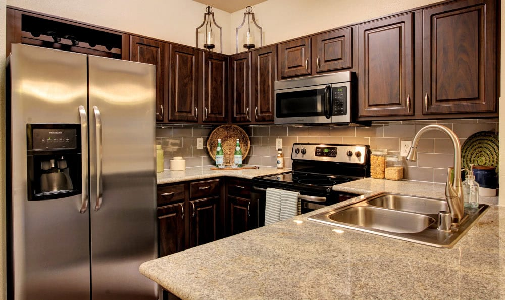 Enjoy the counter space in the kitchens Marquis at Kingwood in Kingwood, Marquis at Kingwood