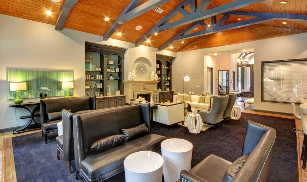 Enjoy talking in the lobby at Marquis at Kingwood in Kingwood, Marquis at Kingwood