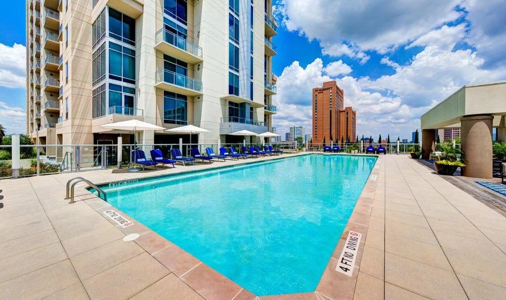 Take a swim at M5250, in Houston, TX
