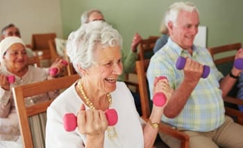 Our residents get plenty of exercise here at Grand Villa of Altamonte Springs with all the activity options we provide