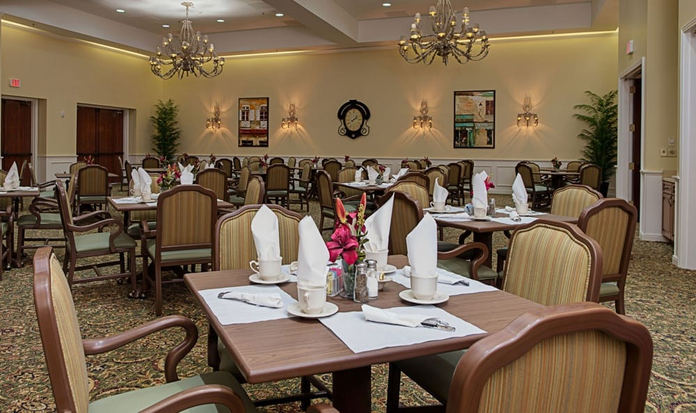 Dining Room at Grand Villa of DeLand in DeLand, Florida