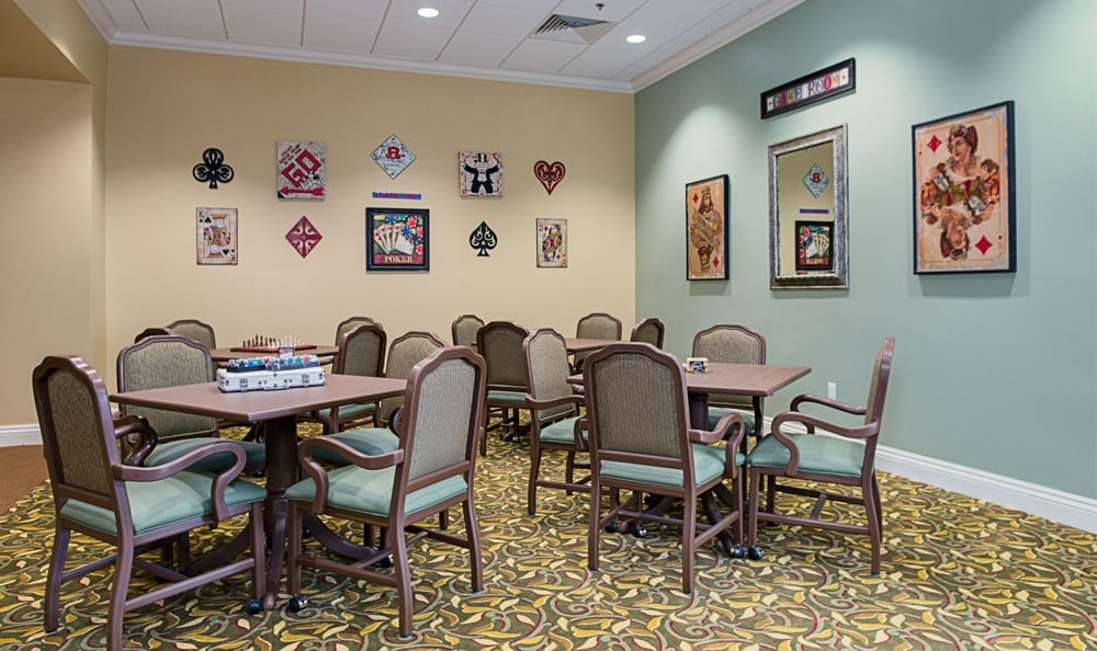 Game Room at Grand Villa of DeLand in DeLand, Florida