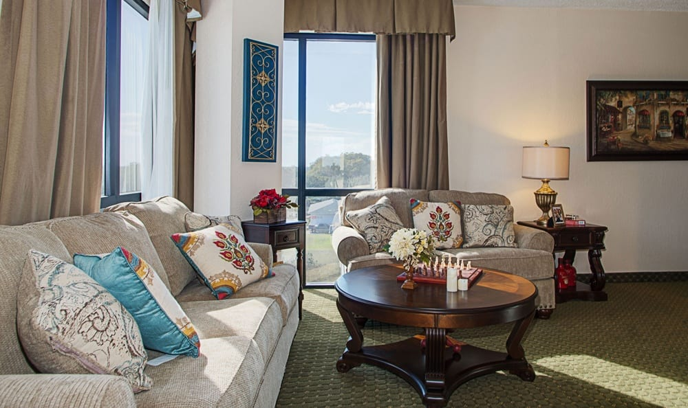 Living Space at Grand Villa of DeLand in DeLand, Florida