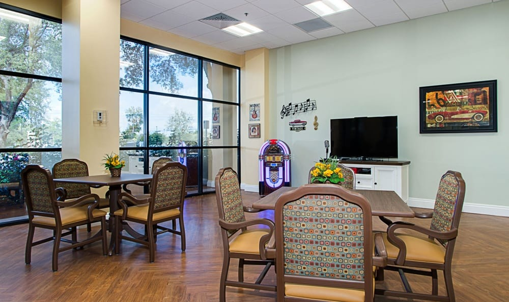 Common Room at Grand Villa of DeLand in DeLand, Florida
