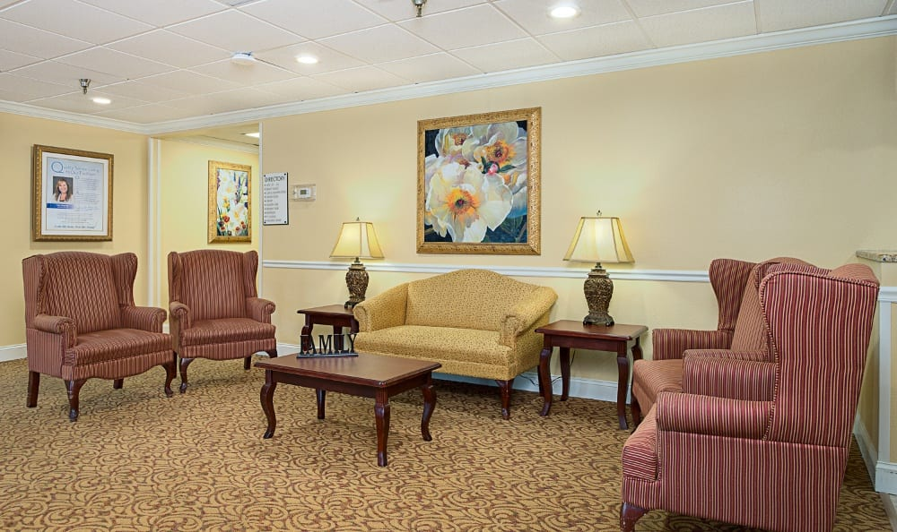 Lounge At Our Senior Living Community In Pinellas Park