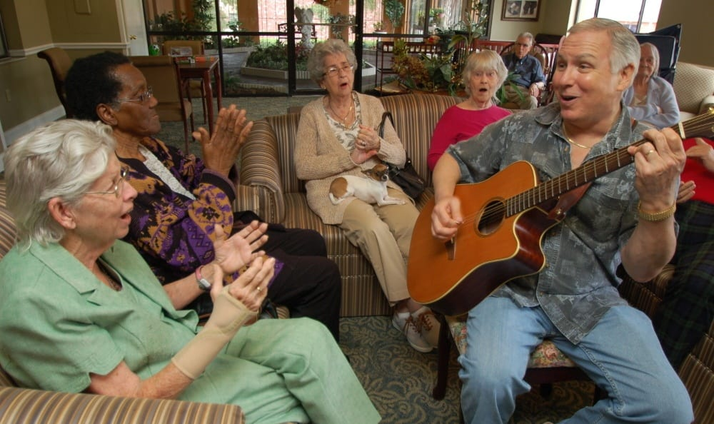 Our senior living in Altamonte Springs provides a variety of entertainment for our residents