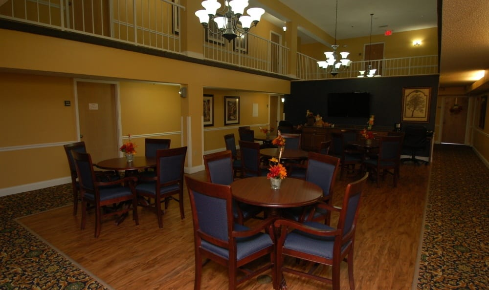 Dining Room at Grand Villa of Altamonte Springs in Altamonte Springs, Florida