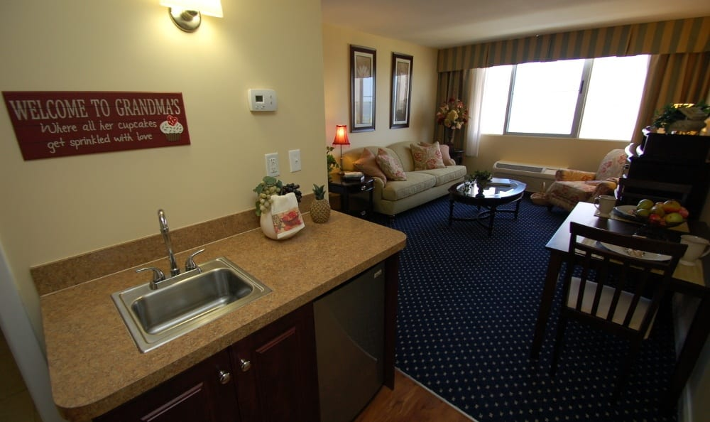 Apartment At Our Senior Living Community In Melbourne