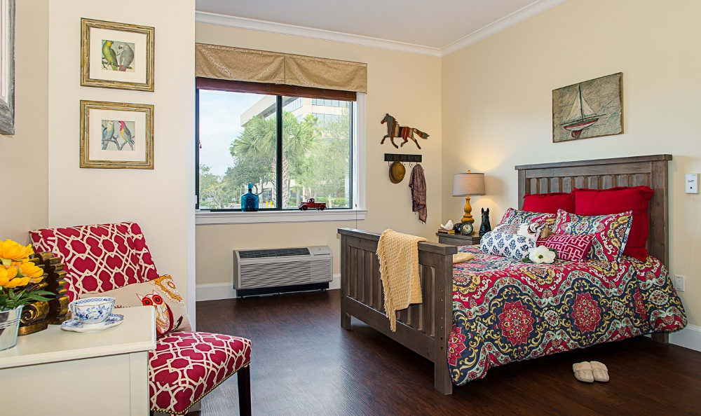 Bedroom At Our Senior Living Community In Melbourne