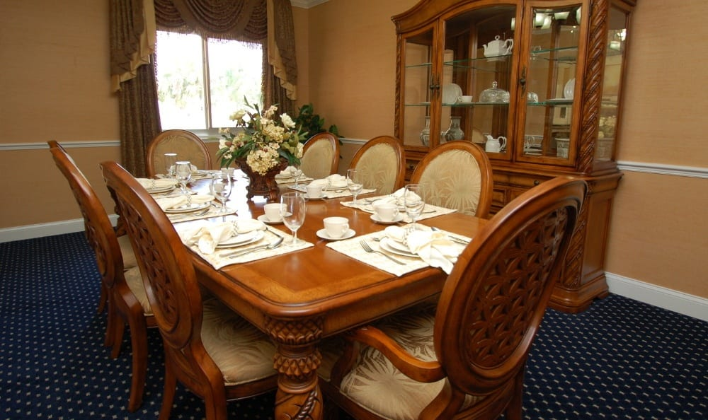 Dining At Our Senior Living Community In Melbourne