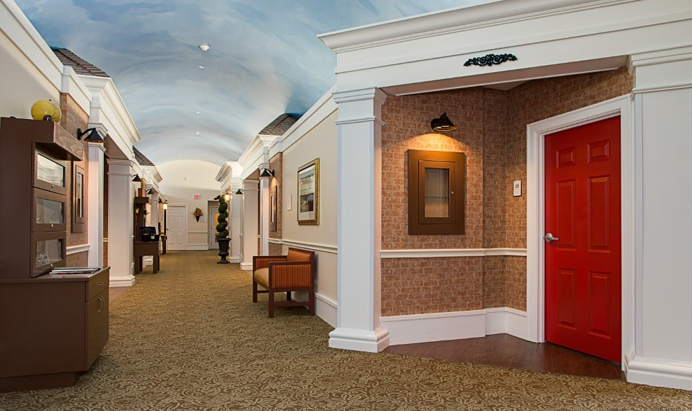 Hallway At Our Senior Living Community In Melbourne