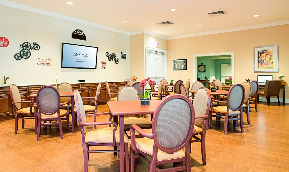 Spacious Dining At Our Senior Living Community In Melbourne