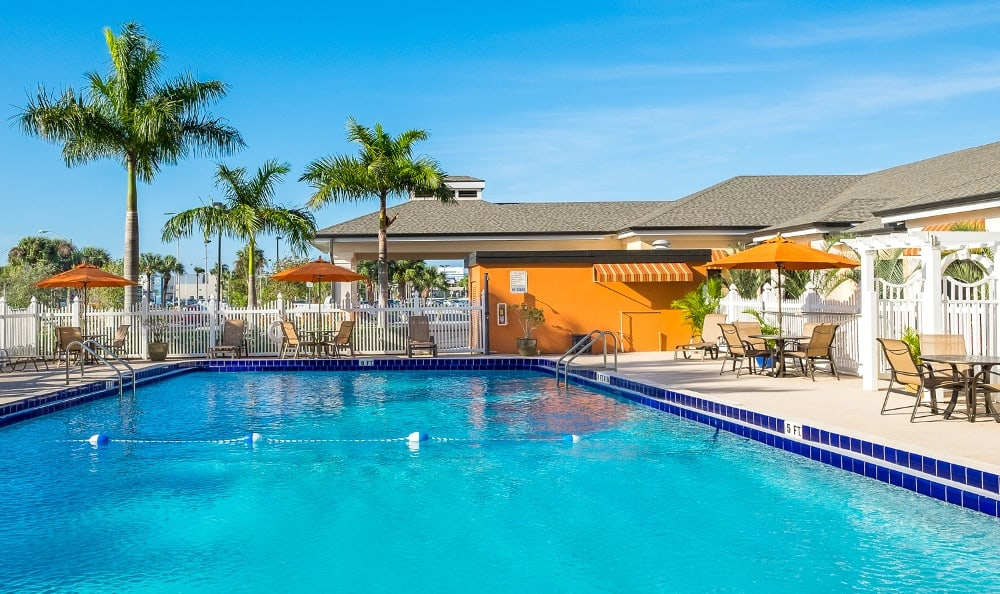 Swimming Pool At Our Senior Living Community In Melbourne