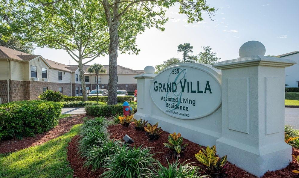 Signage at Grand Villa of Ormond Beach in Ormond Beach, FL