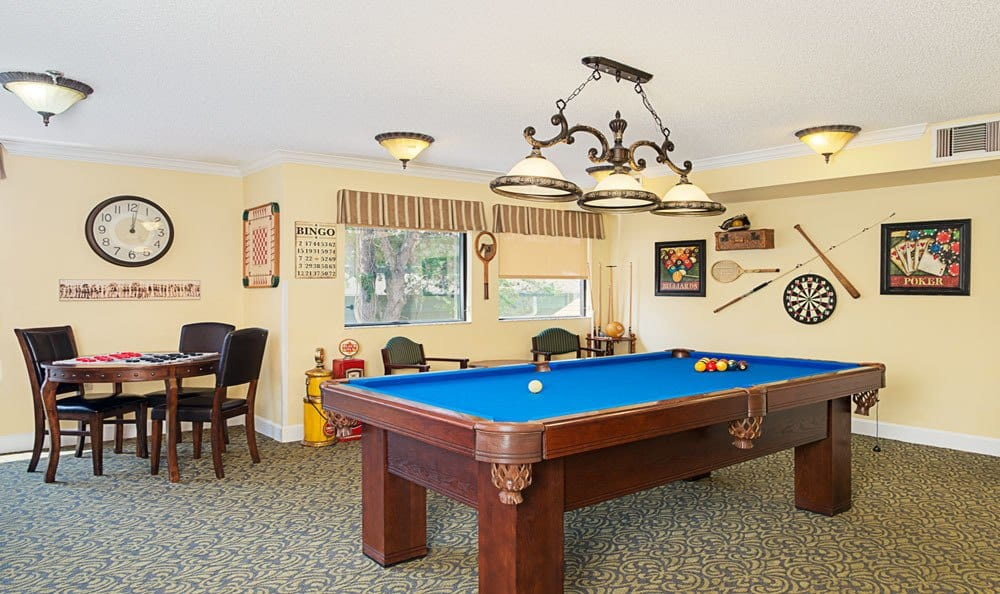Pool table at Grand Villa of Ormond Beach in Ormond Beach, FL